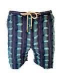 Lounge Short - Titan Fit -  Multi Blue