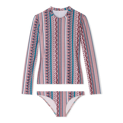 Lillie - Multi- Stripe - Pink - Thorsun