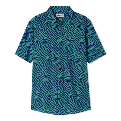 Maze | Short Sleeve | Green - Thorsun