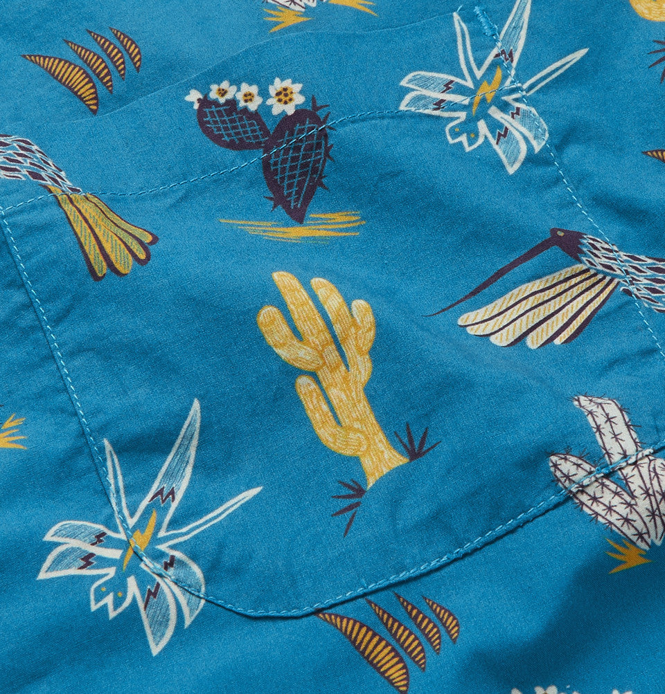 Mexican Hawaiian - Short Sleeve - Blue - Thorsun