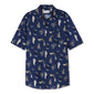 Mexican Hawaiian - Short Sleeve - Navy - Thorsun