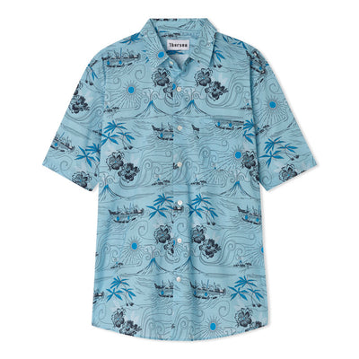 Polynesian - Short Sleeve - Light Blue - Thorsun