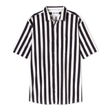Stripe - Short Sleeve - White/Black