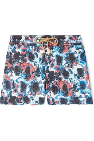 Zeus tortoise printed swim shorts - Thorsun
