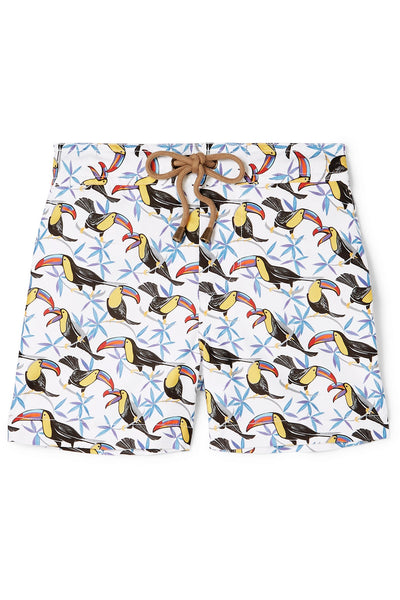 Zeus toucan printed swim shorts - Thorsun