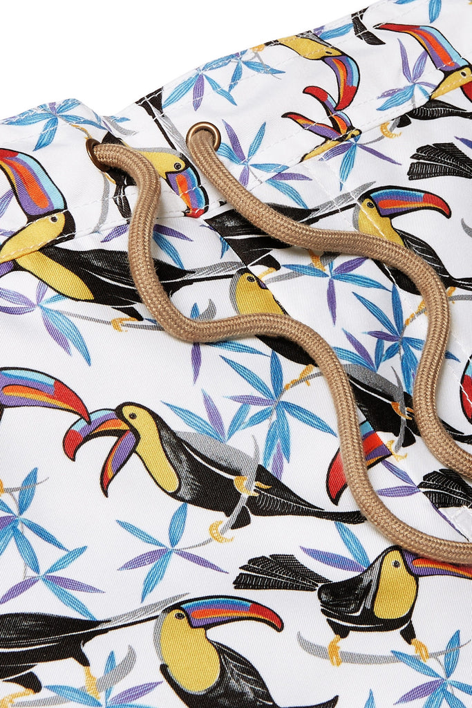 Zeus - Toucan printed swim shorts - Thorsun