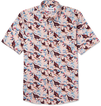 Toucan - Short Sleeve - Pink - Thorsun