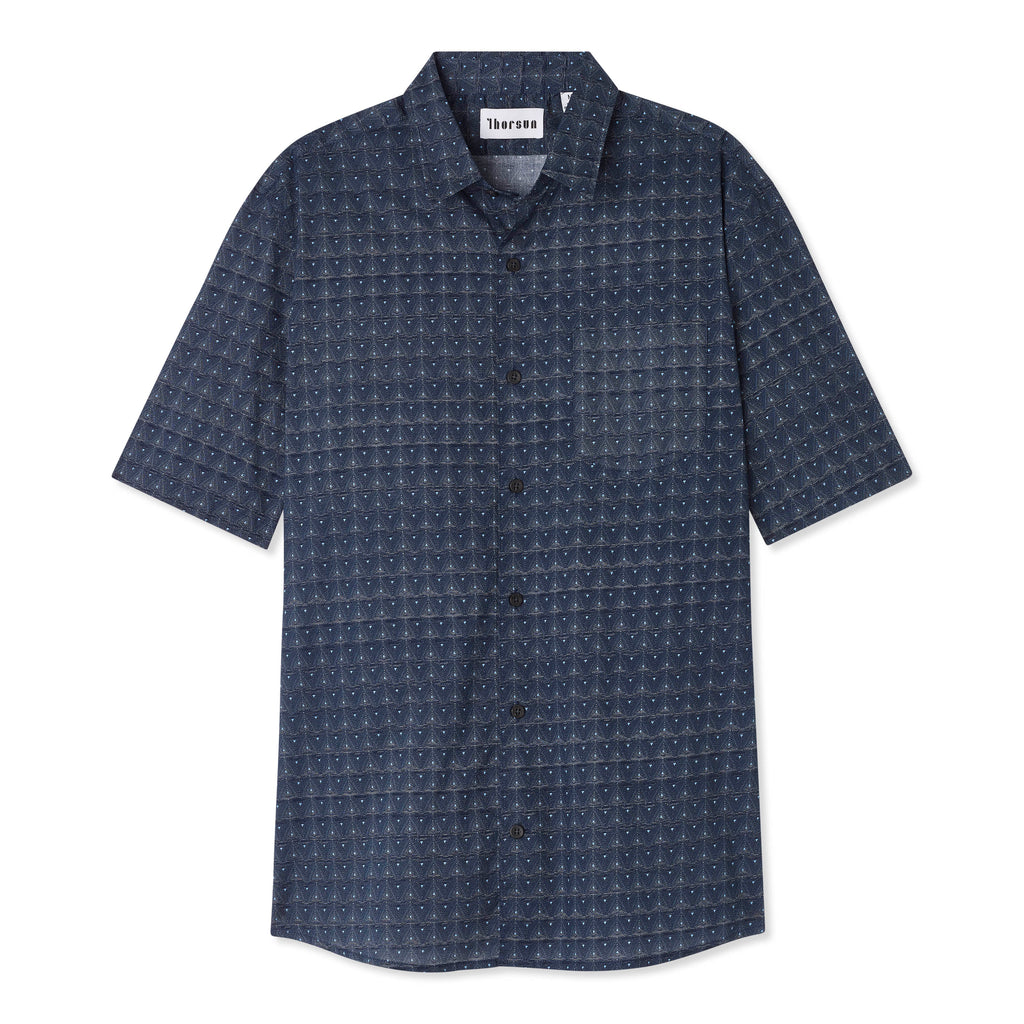 Triangle - Short Sleeve - Navy - Thorsun