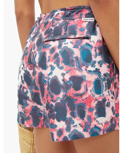 Athena Tortoise Swim Shorts in Multi-color