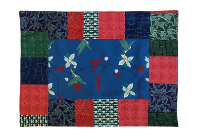 Placemats : Cubist Tropical in Blue