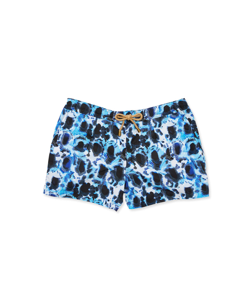 Athena Tortoise Swim Shorts in Blue - Thorsun