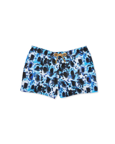 Athena Tortoise Swim Shorts in Blue