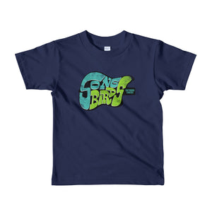 Short Sleeve Kids T-Shirt (BLUE)
