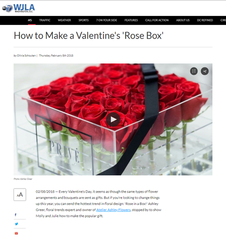 Prive Roses Box on TV!