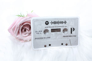 "Your FREE Add-On: Old School, Romantic ""Cassette"" Sticker"