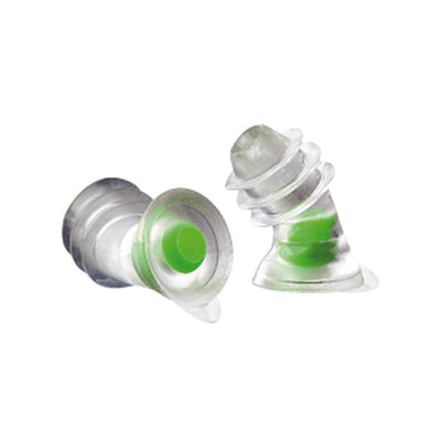 Noizezz 24dB Green Medium Reusable Universal Ear Plugs (Opened)