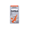 iCellTech Platinum Hearing Aid Batteries (QTY 6) Size 13