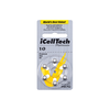 iCellTech Platinum Hearing Aid Batteries (QTY 6) Size 10
