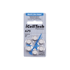 iCellTech Platinum Hearing Aid Batteries (QTY 60) Size 675CI (COCHLEAR IMPLANT)
