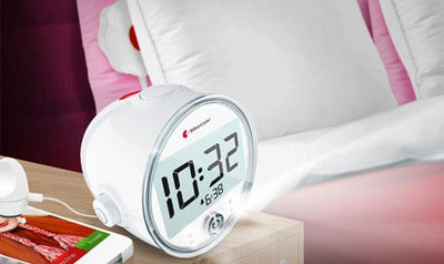 Bellman Alarm Clock Pro Plus with Mobile Phone Sensor - Hear for Less