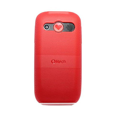 Olitech Easy Grip Protective Case Red