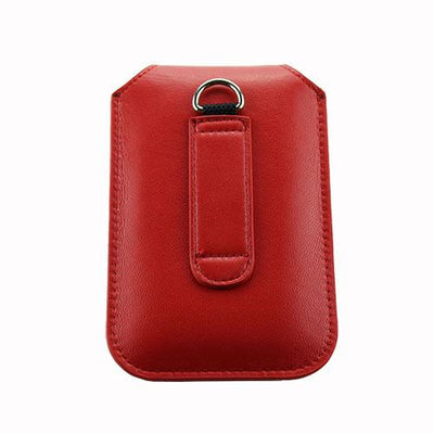 Olitech Easy Pouch Leather Flipstyle Protective Cover Red