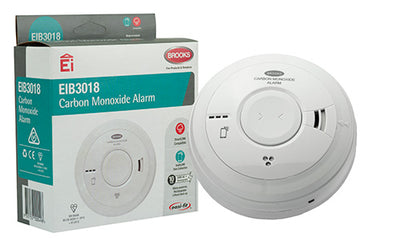 Brooks EIB3018 Carbon Monoxide Alarm