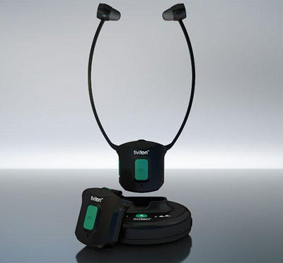 Humantechnik Tiviton DAB Under-Chin TV Listening Set - Hear for Less