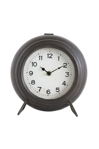 Metal Mantle Clock