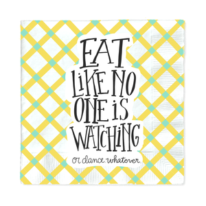 Eat Like No One Napkins