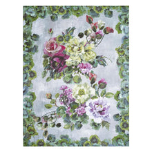 Grandiflora Rose Fuchsia Throw