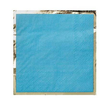 Blue Posh Cocktail Napkins