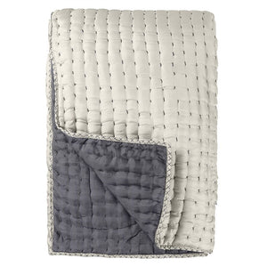Chenevard Silver & Slate Large Quilt