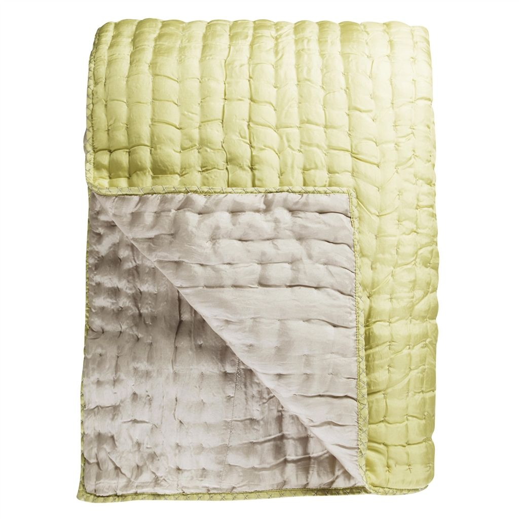 Chenevard Silver & Willow Standard Quilt