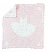 Barefoot Dreams Scalloped Receiving Blanket Tutu