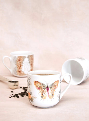 Papaya Art Mug, Butterfly