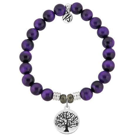 T.Jazelle Purple Tigers Eye