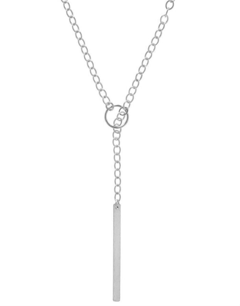 Enewton Design Honor Long Lariat Sterling Necklace
