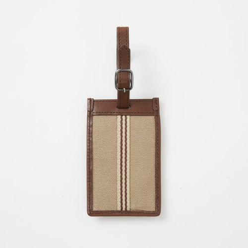 Baekgaard USA Luggage Tag Canvas