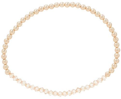 Enewton Design Crystal Bliss Gold Rose Bracelet