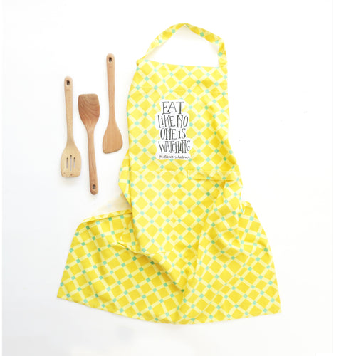 Eat Like No One Apron