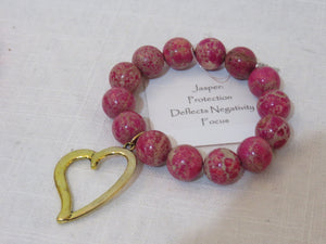 Power Beads by Jen Open Heart Jasper