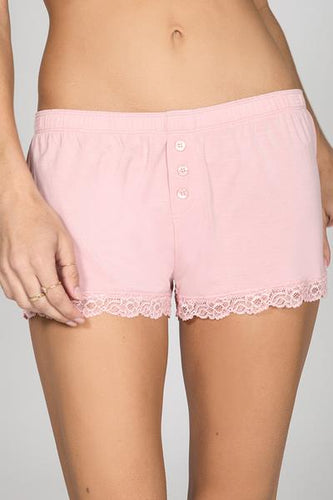 PJ Modal Short Basics Blush