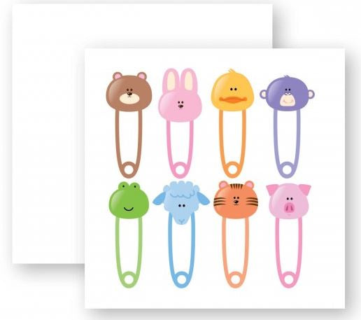 Diaper Pin Card