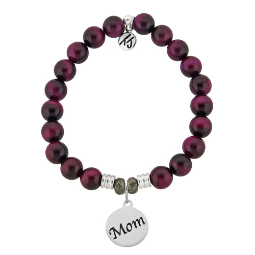 TJ Pink Tigers Eye Mom