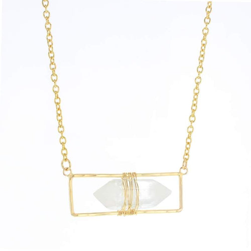 Gold Atrium Necklace
