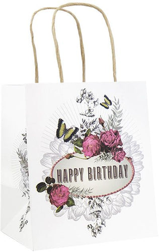 Papaya Art Mini Gift Bag, Happy Birthday