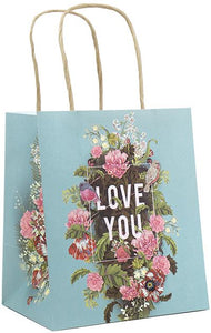 Papaya Art Mini Gift Bag, Bouquet For You