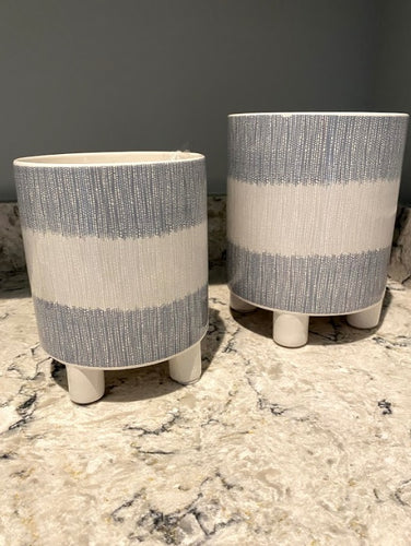 Cachet Pots, Set of 2