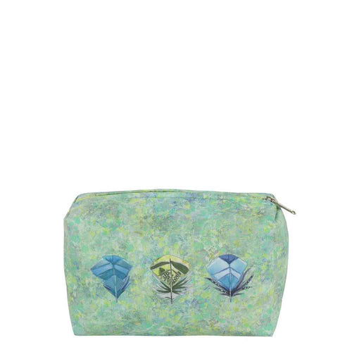 Designers Guild Lustro Washbag Green, Small